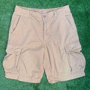 Banana Republic Relaxed Fit Cargo Shorts Size 34